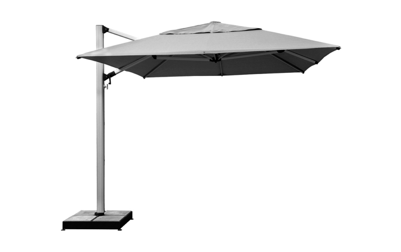 Shademaker Polaris 11 5 Ft Square Commercial Cantilever Umbrella